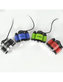BORUIT B22 1 x L2 + 2 x XPE R2 LED 4-Mode 5000 lumens Headlamp with Plug Charger (2 x 18650 )