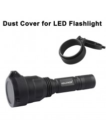 KDC Dust Cover for LED Flashlight - Black (Inner Dia. 25.5mm to 69mm )