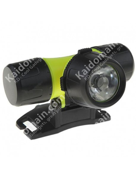 Cree XTE 3-Mode Diving Headlamp (1 x 18650 / 3 x AAA)