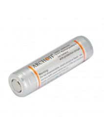 Archon 3.7V 2600mAh Rechargeable 18650 Li-ion Battery with PCB (1 PC)