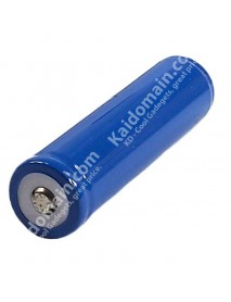 KD Protected 18650 3.7V 2600mAh Rechargeable Lithium-Ion 18650 Battery (2 pcs)
