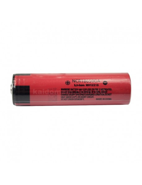 NCR18650GA (Button Top) 3.6V 3500mAh Rechargeable Li-ion 18650 Battery without PCB - 1 pc