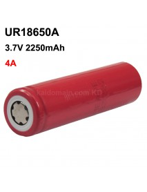 UR18650A 3.7V 4A 2250mAh Rechargeable Li-ion 18650 Battery without PCB - 1 pc