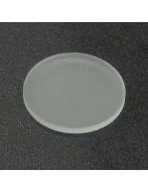 36.2mm(D) x 2.0mm(T) Frosted Glass Lens - 1 pc