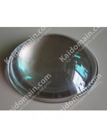75mm Optical Glass LED Lamp Lens - 1pc
