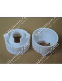 20mm LED Lens Holder (White) - 1pc