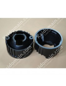 20mm LED Lens Holder (Black) - 1pc