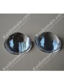 52mm Optical Glass LED Lamp Lens - 1 pc