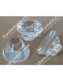 15mm x 9mm LED Glass Lens (1 Piece) - Clearance