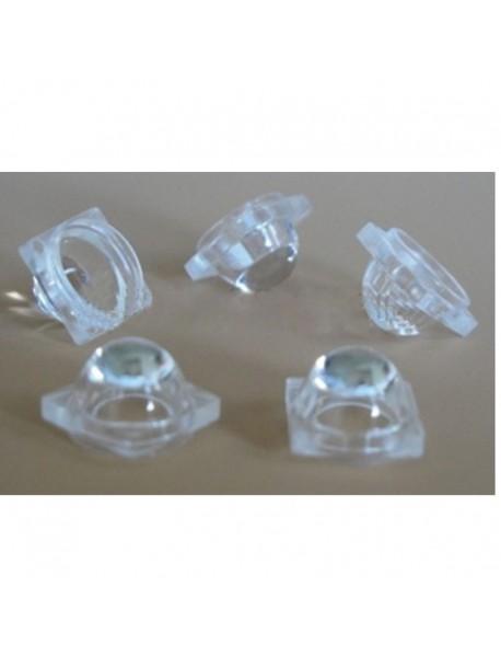 9mm LED Lamp Glass Lens - 1pc