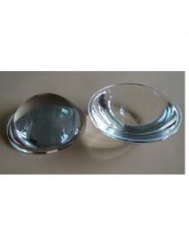 64mm Optical Glass LED Lamp Lens - 1pc