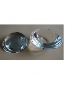 74mm Optical Glass LED Lamp Lens - 1pc