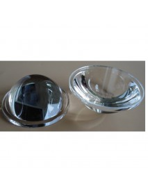 44.5mm Optical Glass LED Lamp Lens - 1pc