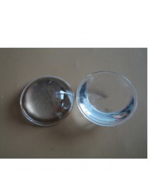 23mm Optical Glass LED Lamp Lens - 1pc