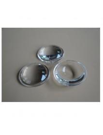 28mm Optical Glass LED Lamp Lens (short) - 1pc