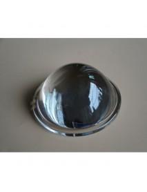 78mm Optical Glass LED Lamp Lens - 1pc
