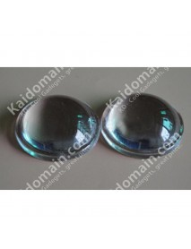 27.7mm Optical Glass LED Lamp Lens - 1pc