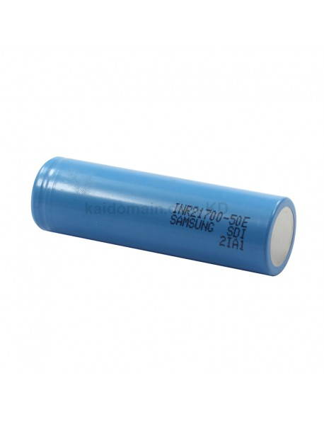 INR21700-50E 3.6V 10A 5000mAh Rechargeable Li-ion 21700 Battery without PCB