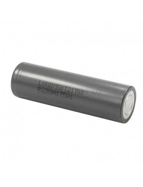 M50T 3.6V 10A 5000mAh Rechargeable Li-ion 21700 Battery without PCB