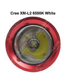 DP026 Cree XM-L2 White 900 Lumens 3-Mode Diving LED Flashlight - Black ( 1x26650 )