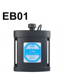 EB01 BICYCLE MOBILE POWER BOX - Black ( 2 x 26650 )
