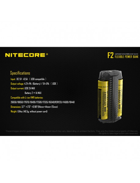 NiteCore F2 FLEXIBLE POWER BANK