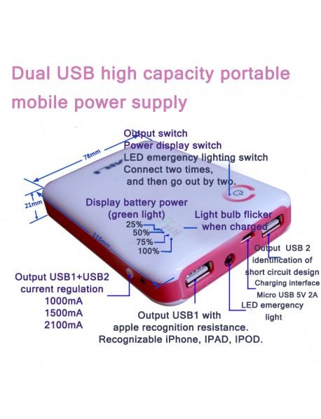 4 x 18650 Dual USB Power Bank DIY Components
