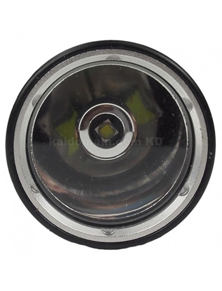 D108 Cree XM-L2 U2 1200 Lumens Diving LED Flashlight - Black (1 x 26650)