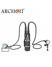 Archon DH40 WH46 4 x Cree XM-L2 U2 LED 4000 Lumens 3-Mode Diving Flashlight (  8x26650 )