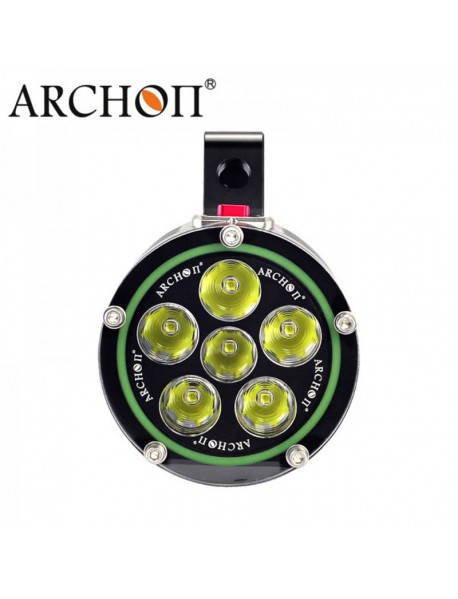 Archon DG60 WG66 6 x White Cree XM-L2 U2 LED 5000 Lumens 3-Mode Diving Flashlight ( 6x18650 )