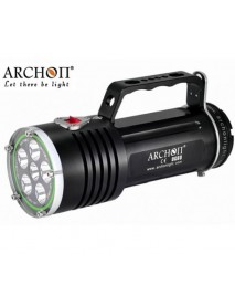 Archon DG60 WG66 6 x White Cree XM-L2 U2 LED 5000 Lumens 3-Mode Diving Flashlight ( 6x18650 )