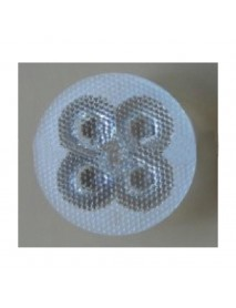 5-in-1 43mm 30 Degree High Power LED Glass Lens with Bead Surface - 1 Piece