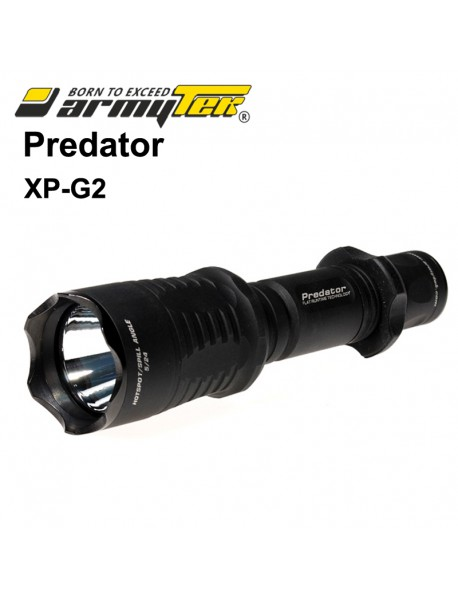 Armytek Predator Cree XP-G2 White 500 lumens 6-Mode LED Flashlight (1x18650 / 2xCR123A)