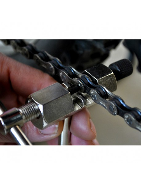 Bike Steel Chain Breaker Splitter Cutter Bike Repair Tool - Silver