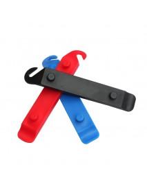 CZ16 Bike Tyre Levers Repair Tool - Red / Blue / Black (2 pcs)