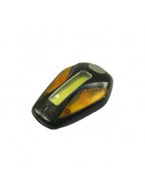 RP RPL-2267 COB White Red LED and Yellow LED 120 Lumens 5-Mode USB Rechargeable Bike Tail Light - Black