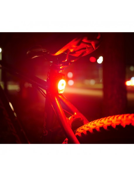 RP RPL-2278 High Power Red LED 6-Mode Rechargeable Bike Tail Light ( 1 pc )