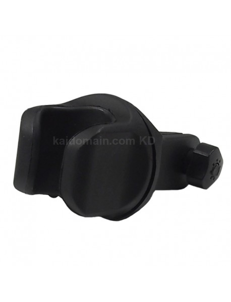 KBL-C4468 360 Degree Rotatable U Shaped Bike Light Mount - Black (1 pc)
