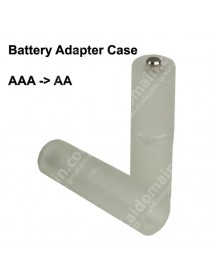 AAA to AA Battery Adapter Case - Translucent ( 2 pcs )