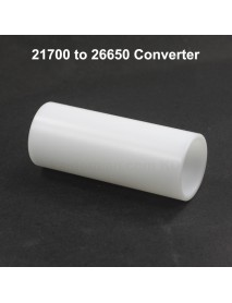 21700 to 26650 Battery Converter - White ( 1 pc )