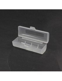 Battery Storage Box for 1 x 21700 Battery - Transparent ( 2 pcs )