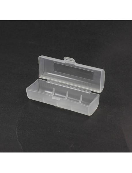 Battery Storage Box for 1 x 21700 Battery - Transparent ( 2 pcs )