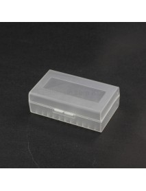 Battery Storage Box for 2 x 21700 Battery - Transparent ( 2pcs )