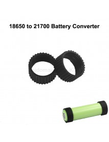 Silicone O-ring 18650 to 21700 Battery Converter ( 2pcs )