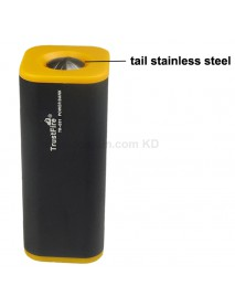 TrustFire E01 Rechargeable Waterproof 4 x 18650 Battery Box / Power Bank - Black