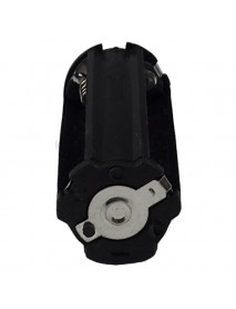 KBH3A02 3 x AAA 4.5V Series Plastic Battery Holder - Black (2 pcs)