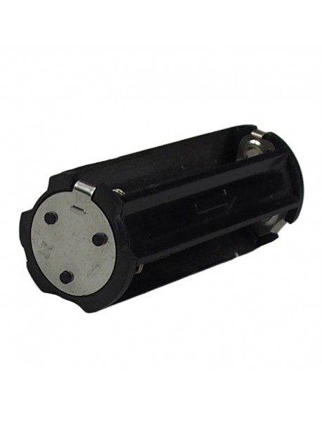 KBH3A04 3 x AAA 4.5V Series Plastic Battery Holder - Black (2 pcs)