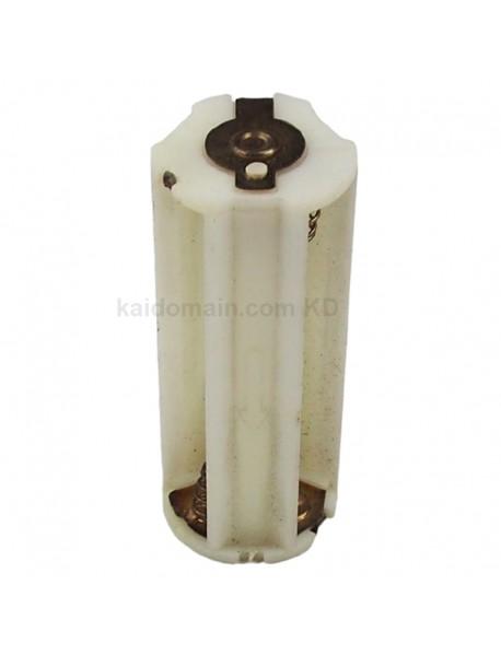 KBH3A05 3 x AAA 4.5V Series Plastic Battery Holder - White (2 pcs)