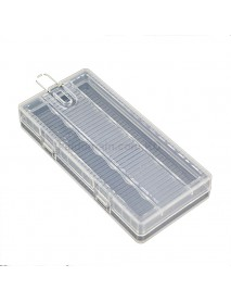 Soshine SBC-022 Plastic Battery Case for 1-8 pcs AA Battery - Transparent (1 pc)