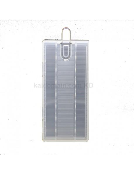 Soshine SBC-022 Plastic Battery Case for 1-8 pcs AA Battery - Transparent (1 pc)